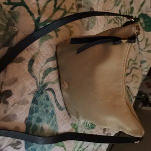 Kate Spade soft leather cream and black purse